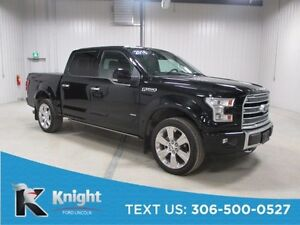 2016 Ford F-150 Limited Demo Navigation, Moon Roof