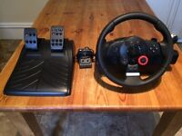 Logitech PS3 Driving Force GT console