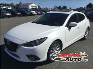 Mazda MAZDA3 GT-SKY Sport Navigation Cuir Toit Ouvrant MAGS 2014
