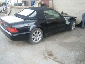 2000 Mercedes-Benz SL-500 Salvage Parts Car