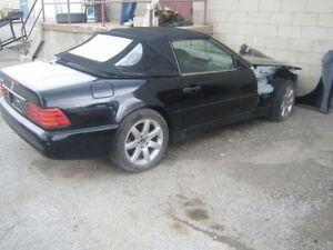 2000 Mercedes-Benz SL-500 Salvage Parts Car