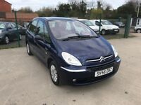 CITROEN XSARA PICASSO 1.6 HDI EXCLUSIVE 5dr **DRIVES BRILLIANT**RECENTLY SERVICED**P/X to CLEAR**