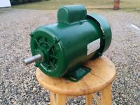 1 HP Totally Enclosed Electric Motor (Gould Century)