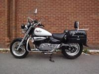 2011 HYOSUNG GV 125 AQUILA LOTS OF EXTRA IMMACULATE BIKE