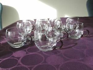 Vintage glass punch cups North Shore Greater Vancouver Area image 1