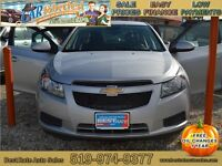 2013 Chevrolet Cruze LT Sedan, NO PAYMENTS UNTIL 2016