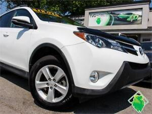 SALE! '13 Toyota RAV4 XLE AWD+Roof+TechPkg+BackupCam! $138/Pmts!
