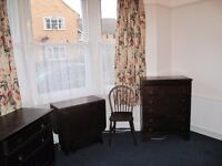 Clean redecorated large single room in Devonshire Road . Gas central heating heating .