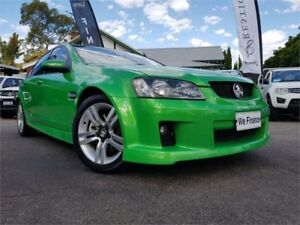 2008 Holden Commodore VE MY08 SS Green 6 Speed Automatic Sedan Mount Hawthorn Vincent Area Preview