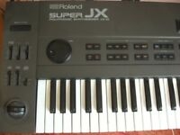 Roland JX 10 Synthesizer (Super JX) vintage analog digital keyboard colossal sound