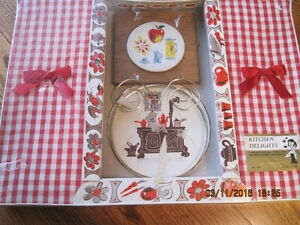 Funky 1950's Kitchen Towels & Accessories Gift Pack NOS