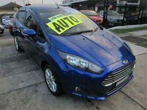 2014 Ford Fiesta WZ Trend Blue 6 Speed Automatic Hatchback Waratah Newcastle Area Preview