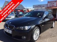 BMW 3 SERIES 325I SE COUPE (3.0) 6 SPEED MANUAL NEW MOT, JUST S (black) 2007