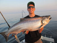 L. Huron/Georgian Bay Guided Salmon Fishing Charter *Affordable*