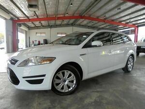 2013 Ford Mondeo MC LX PwrShift TDCi White 6 Speed Sports Automatic Dual Clutch Wagon Welshpool Canning Area Preview