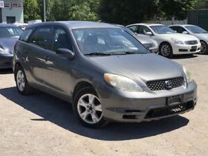2004 Toyota Matrix LOW KMS GAS SAEVR WELL-MAINTAINED SUNROOF