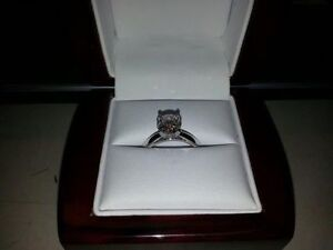 1.55 ct Engagement. Ring / 0.41 ct Wedding Ring Oakville / Halton Region Toronto (GTA) image 3