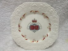 Royal Silver Jubilee Plate Smithfield Playford Area Preview