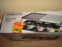 Electric Raclette Grill - New Unused - Boxed - £10 sorry no offers