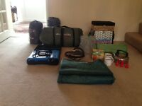 Camping tent and equipment for sale