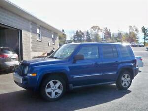 $109 BI WEEKLY OAC!!! 2010 Jeep Patriot Limited ONLY 6995$ 4X4