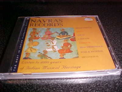 Navras Records Sampler: The Best In Indian Classical Music CD New