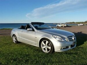 2010 Mercedes-Benz E250 207 CGI Elegance Silver 5 Speed Automatic Cabriolet Fairy Meadow Wollongong Area Preview