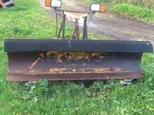 Fisher 8 Ft Snow Plow