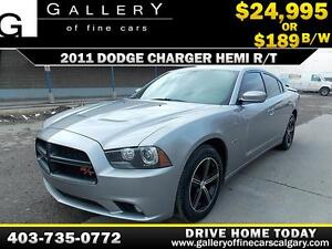 2011 Dodge Charger HEMI R/T $189 bi-weekly APPLY NOW DRIVE NOW
