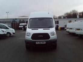 Ford Transit T350 2.2 Tdci 125Ps H3 Van DIESEL MANUAL WHITE (2016)