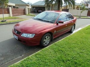 2003 Holden Commodore VY Acclaim Red 4 Speed Automatic Sedan Somerton Park Holdfast Bay Preview