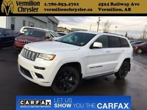2018 Jeep Grand Cherokee Summit, Pano Sunroof, Adaptive Cruise,