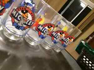 Walt Disney Mickey Mouse 1928 to 1988 collectable glasses like N