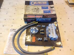 oil filter relocation kit, dual GM olds,pontiac&buick