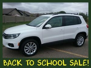 2014 VW Tiguan 2.0 TSI Luxury SUV ** SUNROOF ~ TOUCHSCREEN **