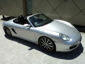 2005 Porsche Boxster 987 S Silver 6 Speed Manual Roadster Burwood Burwood Area Preview