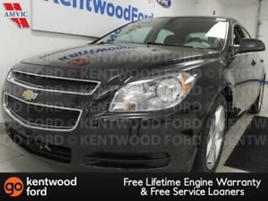 2012 Chevrolet Malibu LS FWD black on grey Malibu