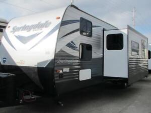 2018 SPRINGDALE 38BH-BUNKHOUSE PARK MODEL $37995 TRADE-FINANCE!
