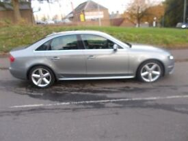AUDI A4 2.0 TDI S LINE 4d 141 BHP (grey) 2009