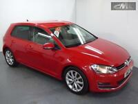 VOLKSWAGEN GOLF GT TDi BlueMotion Tech, Red, Manual, Diesel, 2013