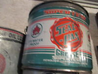 Vintage Oil Cans ( Texaco, Red Indian, BA, Supertest,Shell) more