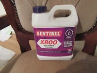 SENTINEL X800 FAST ACTING CENTRAL HEATING CLEANER,