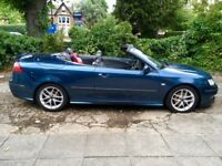 2007 Saab 9-3 Aero Convertible, FSH, HPI Clear, long MOT, low mileage