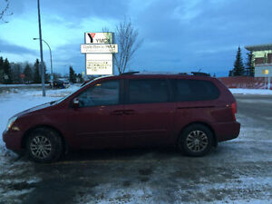 KIA SEDONA SPORT V6 HEATED/BLUE-TOOTH-loaded