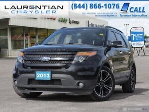 2013 Ford Explorer Sport -CERT- 4WD, LEATHER, BLUETOOTH