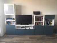 Ikea Besta storage combination