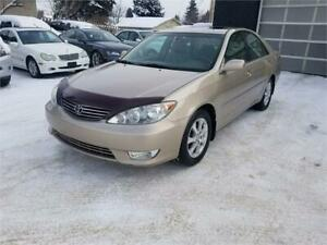 2005 Toyota Camry XLE Only 188194 km *** Remote Starter ***