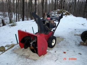 snowblower repair & tune up