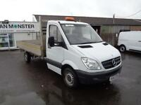 Mercedes-Benz Sprinter 3.5T DROPSIDE DIESEL MANUAL WHITE (2013)