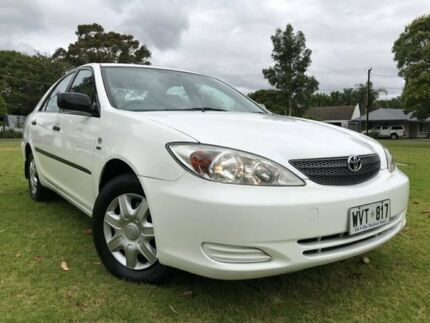 2003 Toyota Camry ACV36R Altise White 4 Speed Automatic Sedan Somerton Park Holdfast Bay Preview